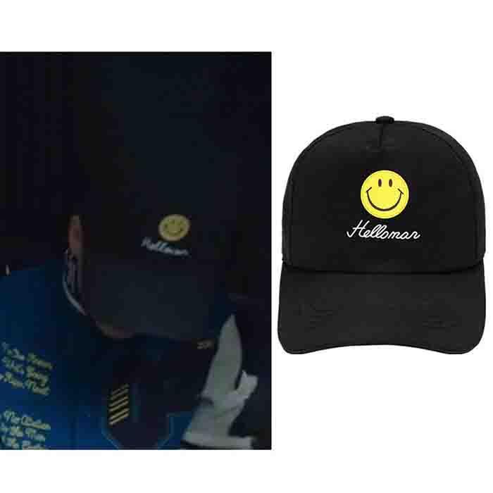 BTS JIMIN Smiley Cap