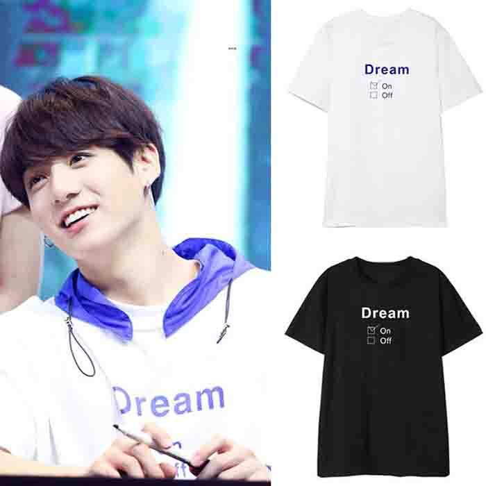 BTS JUNG KOOK  DREAM T-SHIRT