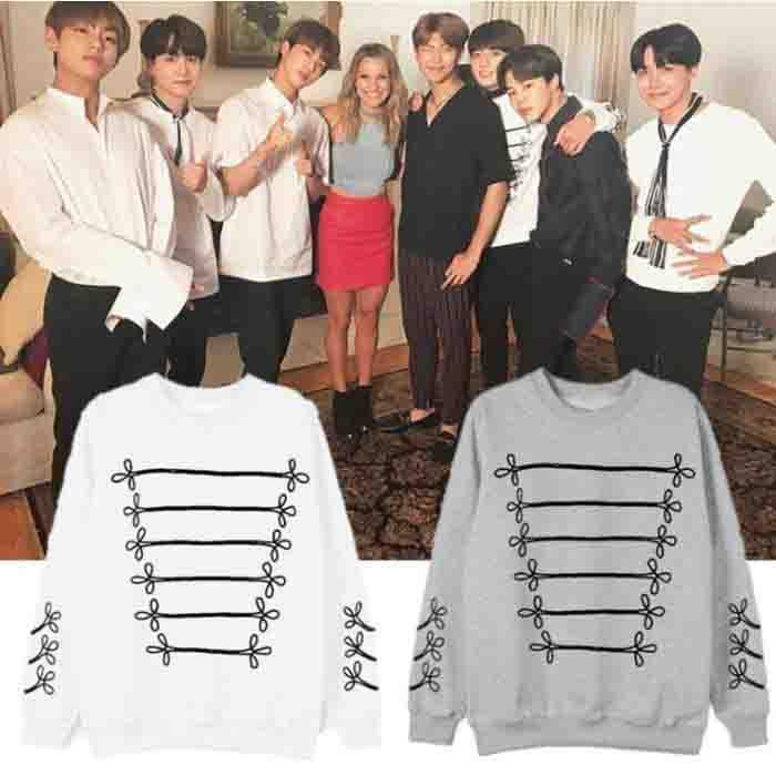 BTS Jungkook Billboard Style Sweatshirt