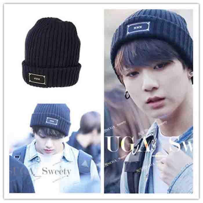 BTS JUNGKOOK Knitted Woolen Hat