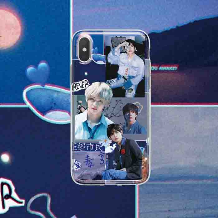 BTS Kim Taehyung iPhone Case