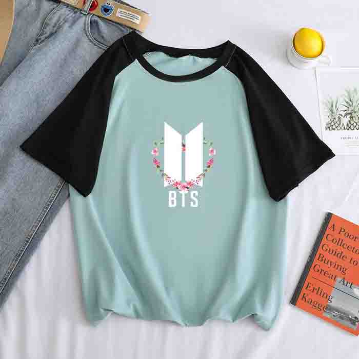 BTS Map Of The Soul:7 Colorblock T-shirt