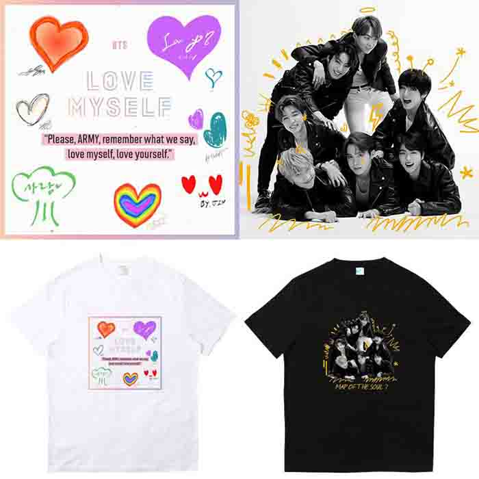 BTS Map Of The Soul: 7 T-shirt