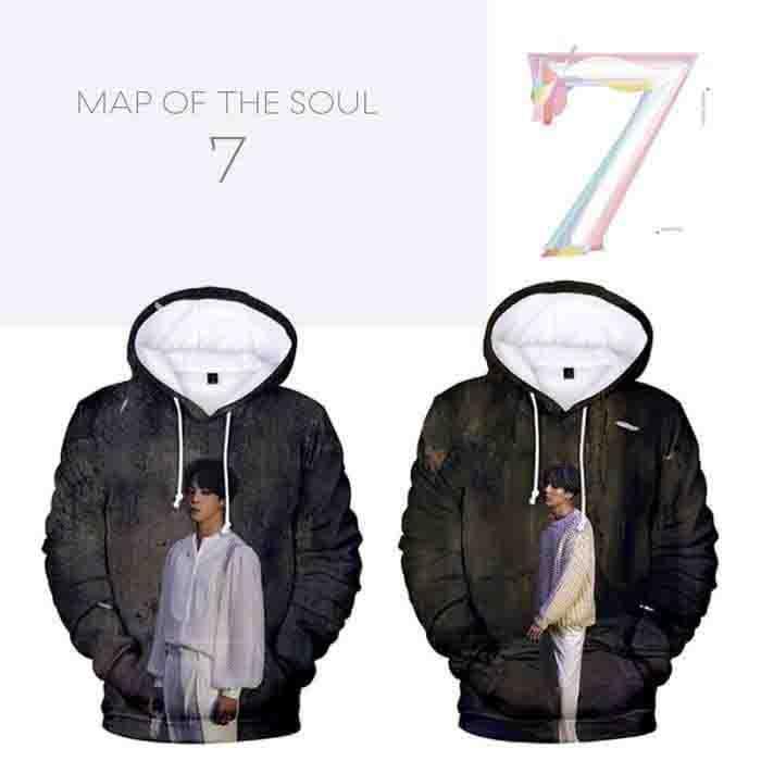BTS Map of The Soul: 7 (Ver 1) 3D Hoodie