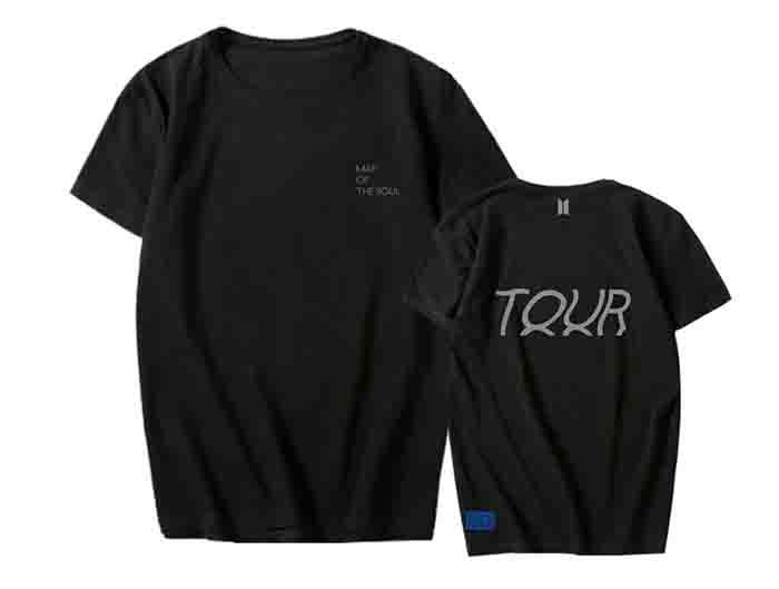 BTS MAP OF THE SOUL TOUR T-shirt