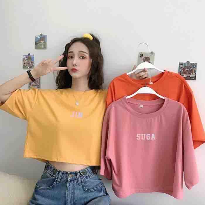 BTS Member Name Short T-shirt