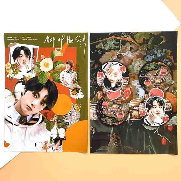 BTS MOTS: 7 Ver 4 Design HD Poster