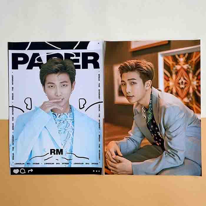 BTS Paper Cover Same Poster Sticker