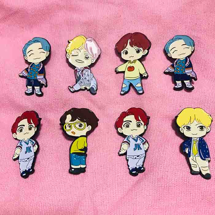 BTS POP-UP Store House of BTS Badge
