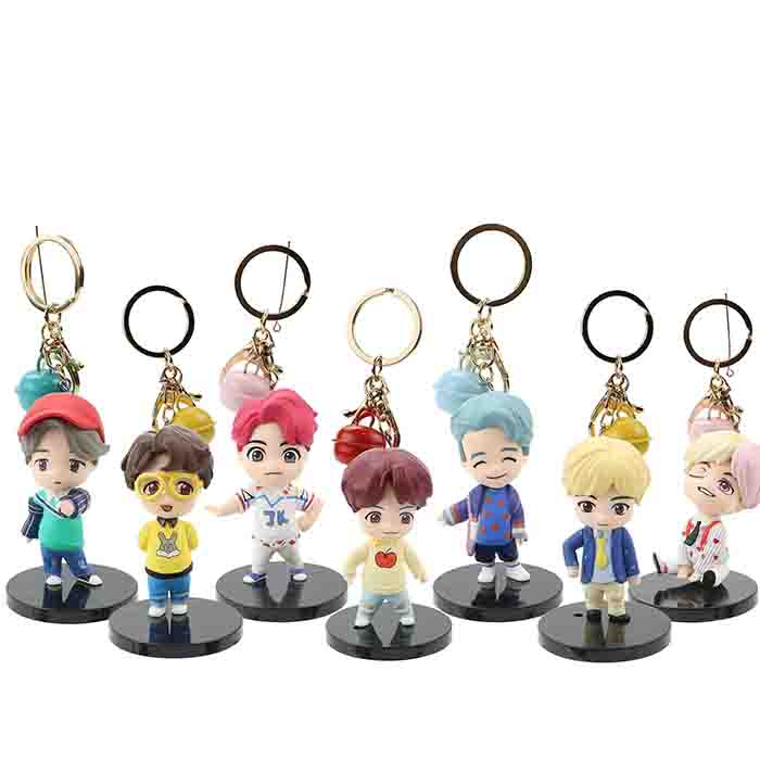 BTS POP-UP Store House of BTS Doll Keychain