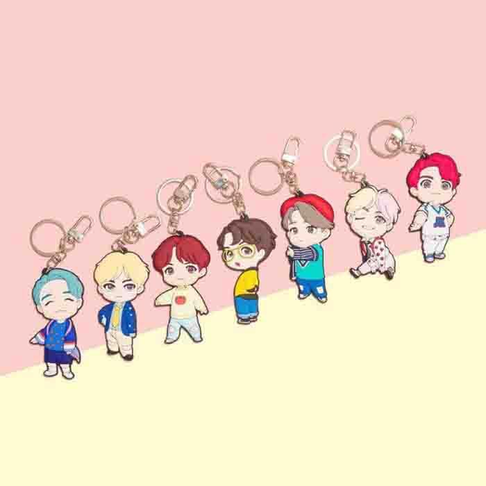 BTS POP-UP Store House of BTS Keychain