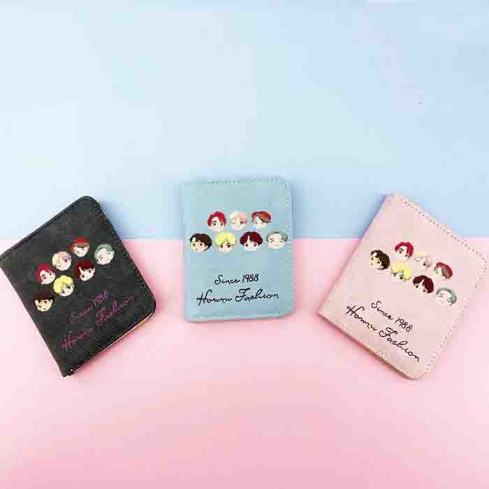 BTS Pop Up Characters Wallet