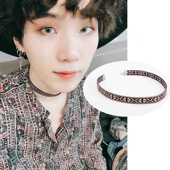 BTS Suga FAKE LOVE Fashion Collar Neckband