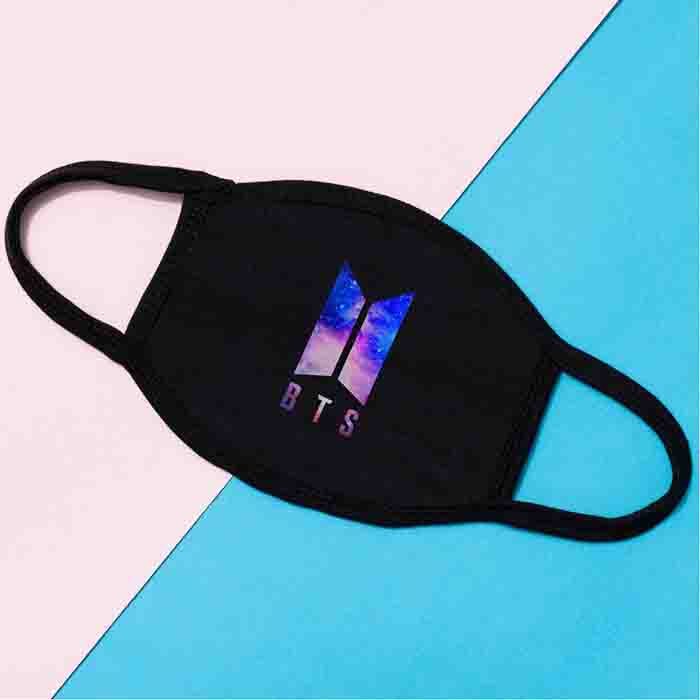 BTS Three-layer Cotton Stary Sky Mask