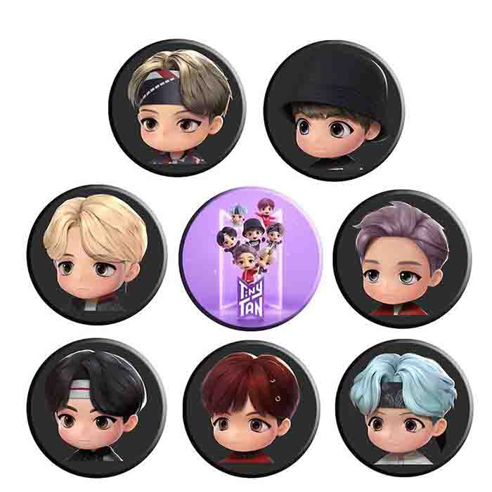 BTS TinyTAN Badge