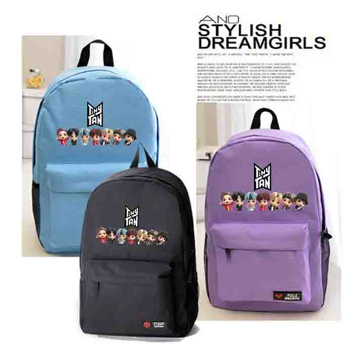 BTS TinyTAN Cartoon Backpack