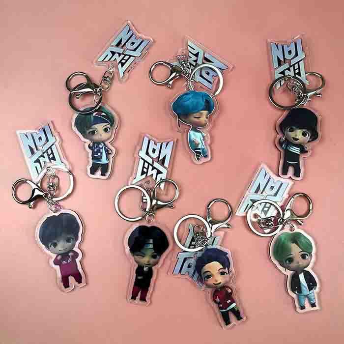 BTS TinyTAN Keychain
