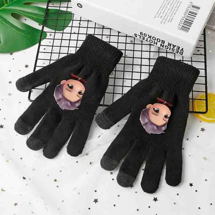 BTS TinyTAN Knitted Gloves