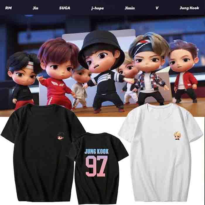BTS TinyTAN T-shirt