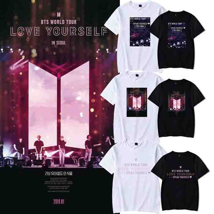 BTS World Tour Love Yourself In Seoul T-shirt