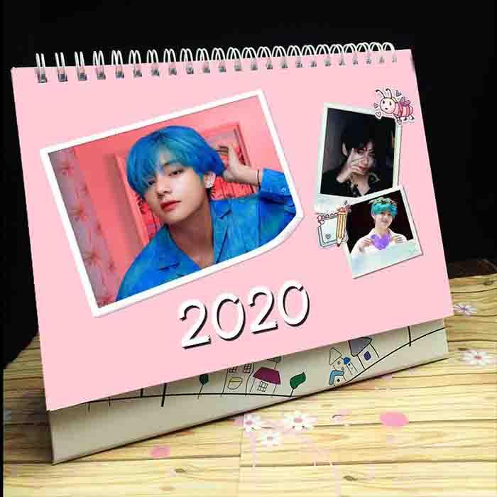 BTS X  2020 Kim taehyung desk calendar