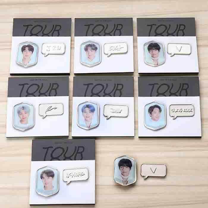BTS X Badges and keychains