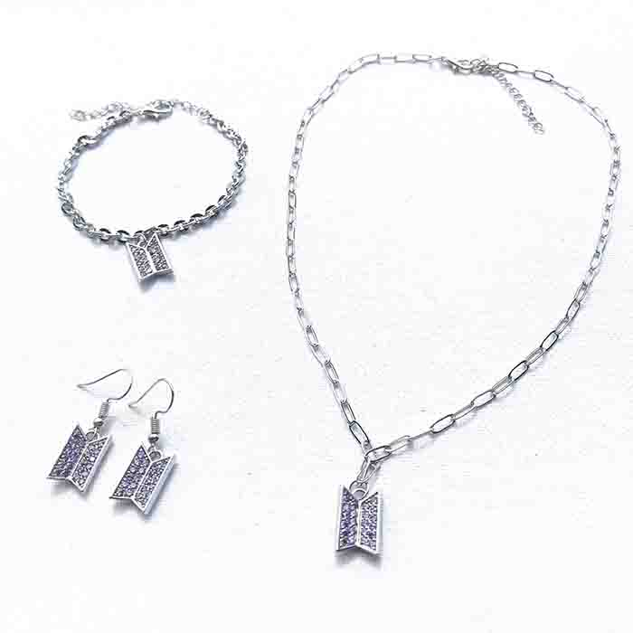 BTS X Bracelet&necklace&earring
