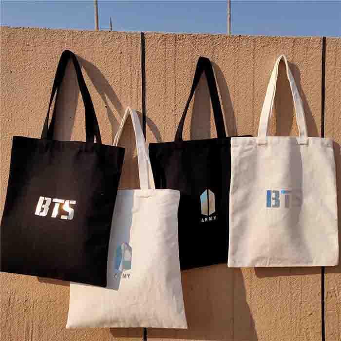 BTS X Canvas bag