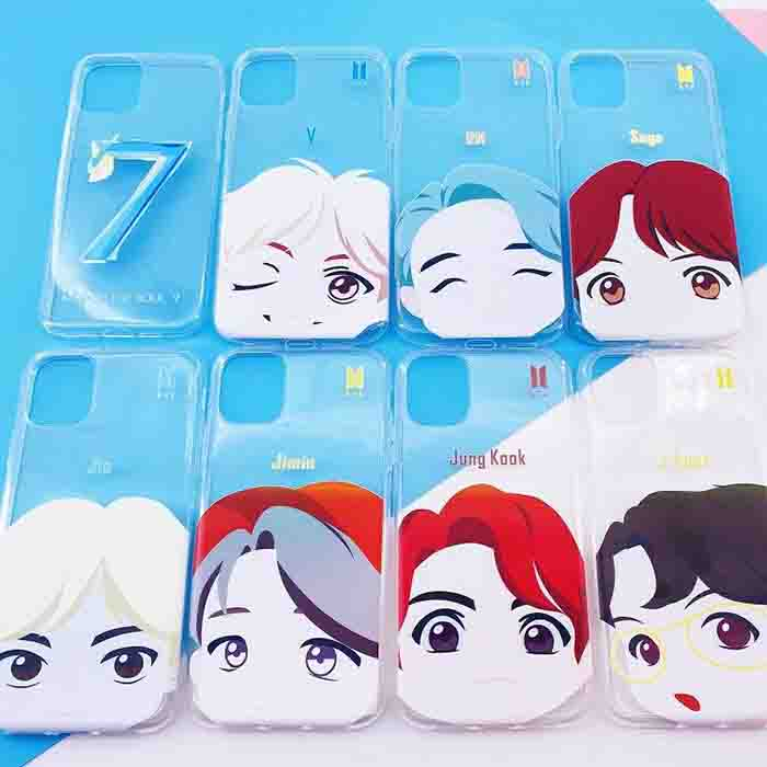 BTS X  Cartoon Phone Case