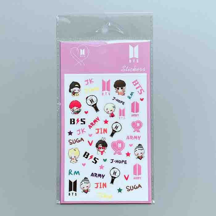 BTS X DIY STICKERS