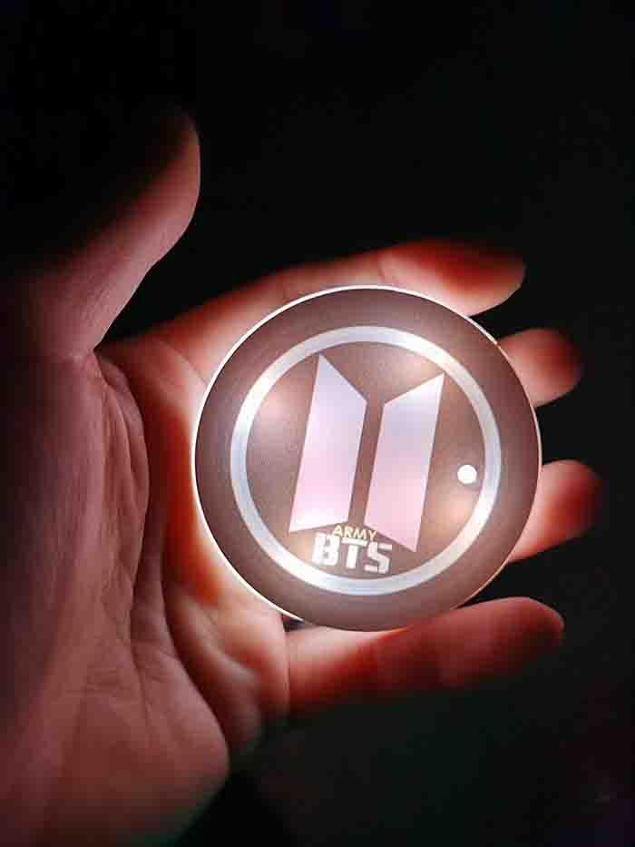 BTS X Glowing coaster