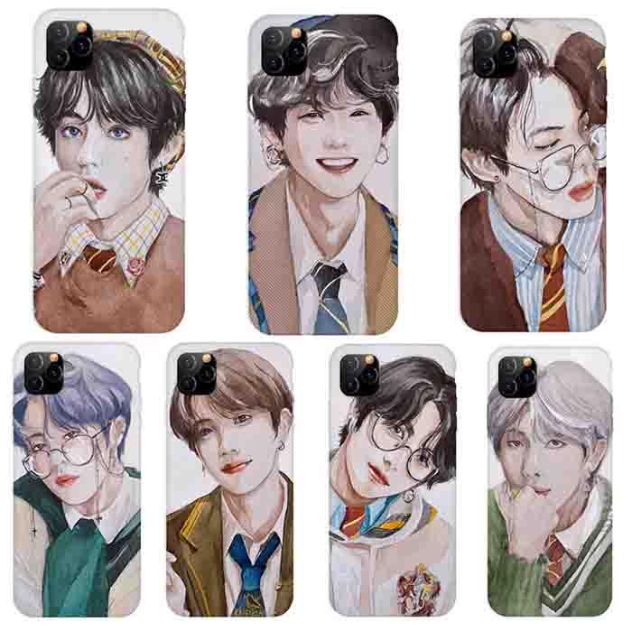 BTS X Hand drawn phone case