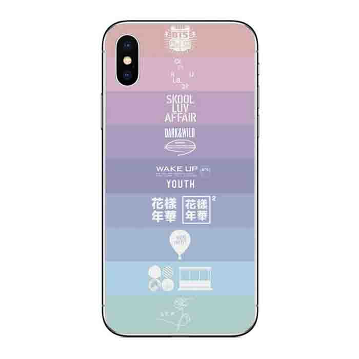BTS X iPhone Case