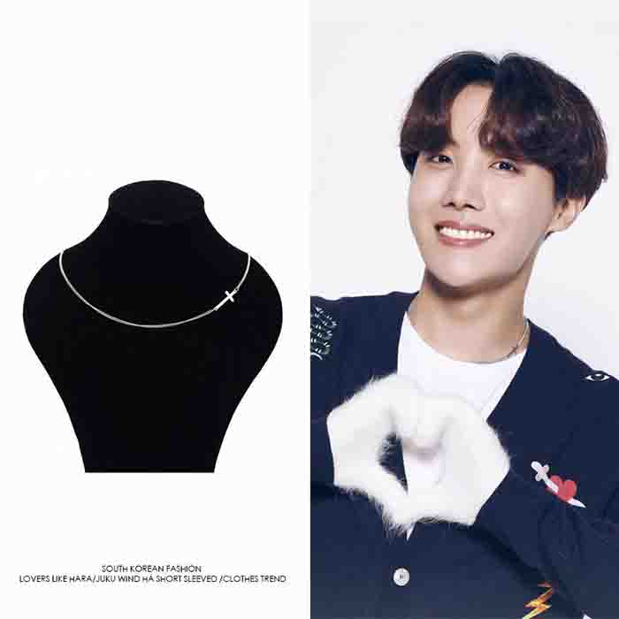 BTS X J-HOPE Cross Clavicle Chain