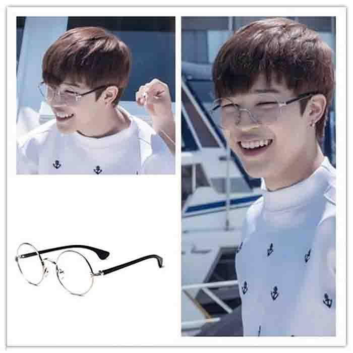 BTS X JIMIN Classic Retro Flat Glasses