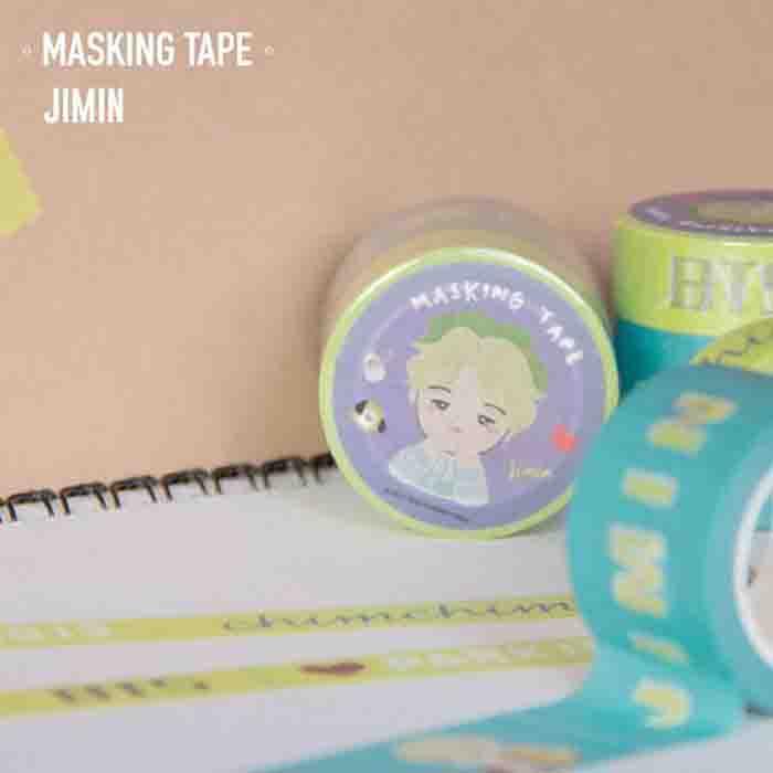BTS X jimin masking tape