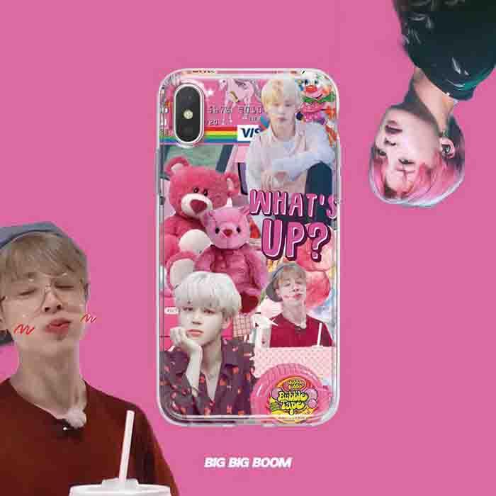 BTS X JIMIN PHONE CASE
