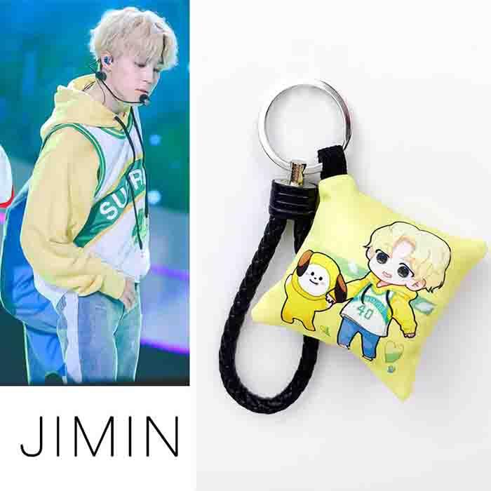 BTS X JIMIN small pillow keychain