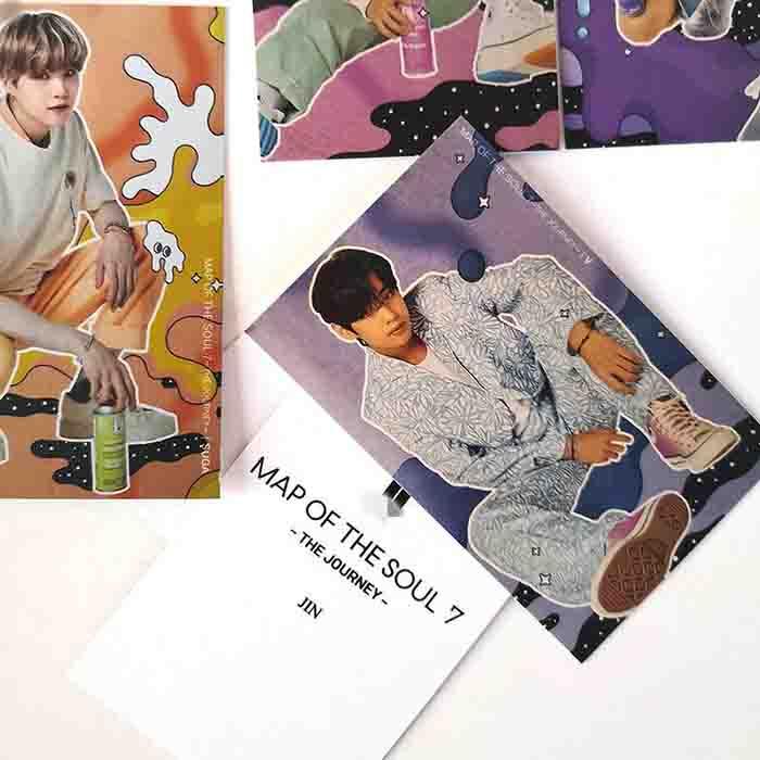 BTS X JOURNEY Lomo Card