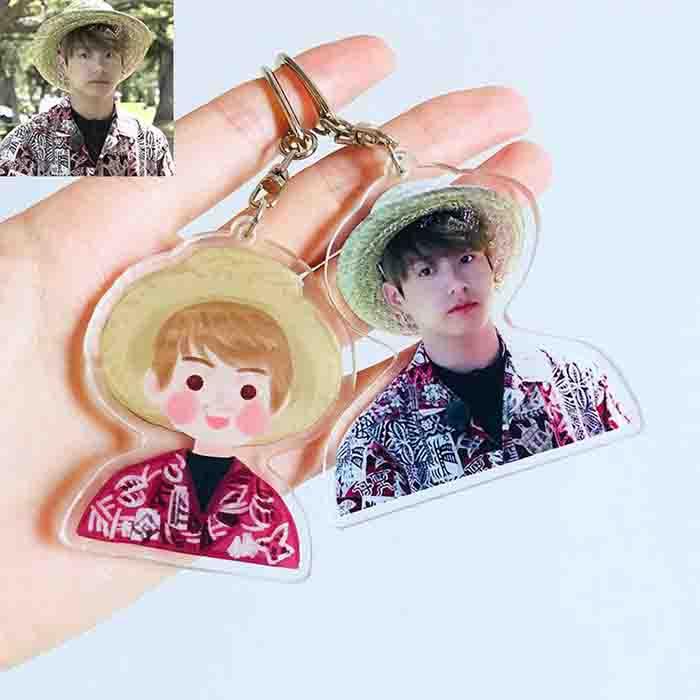 BTS X Jungkook Hawaii Keychain