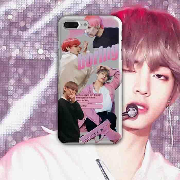 BTS X Kim taehyung phone case