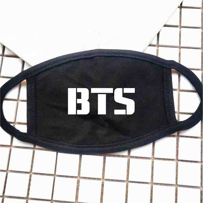 BTS X Logo & Member Name Mask