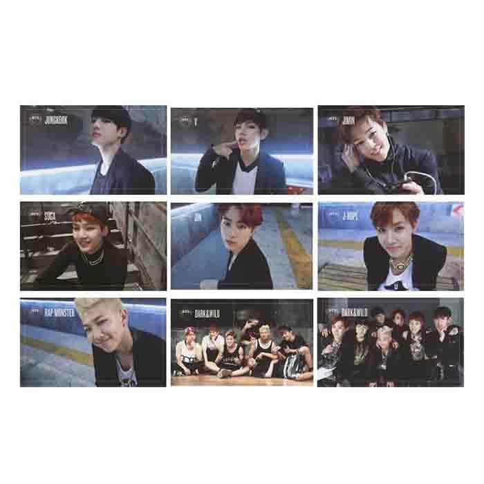 BTS X LOMO CARD