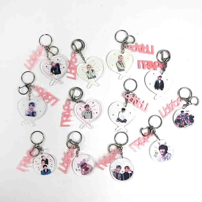 BTS X Love Keychain