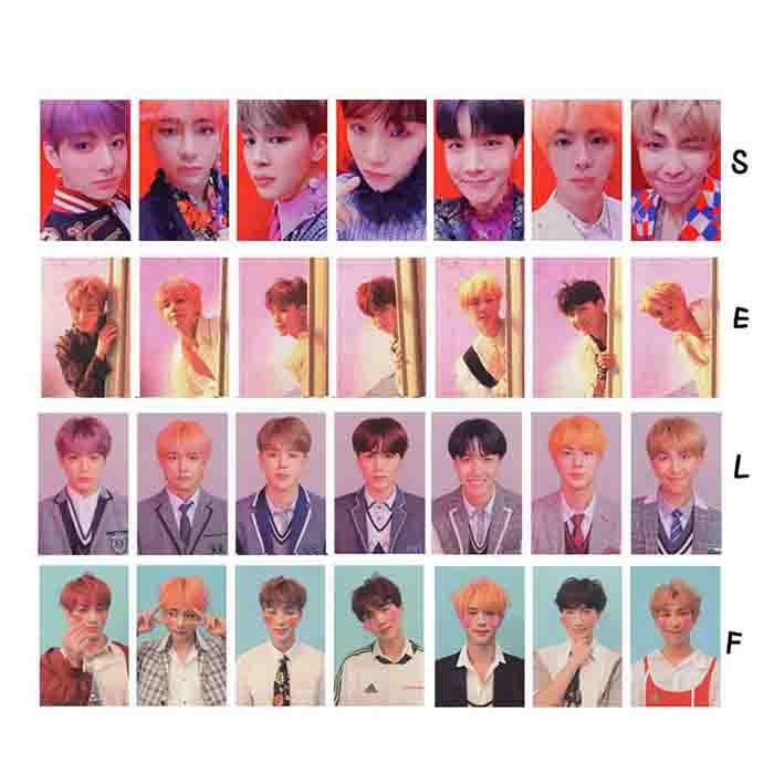 BTS X Love yourself lomo card