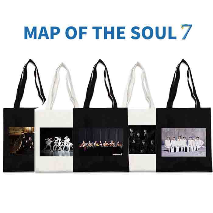 BTS X MAP OF THE SOUL: 7 CANVAS BAG