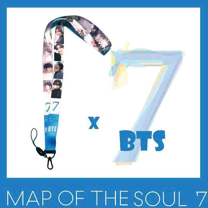 BTS X MAP OF THE SOUL:7 Mobile Phone Straps