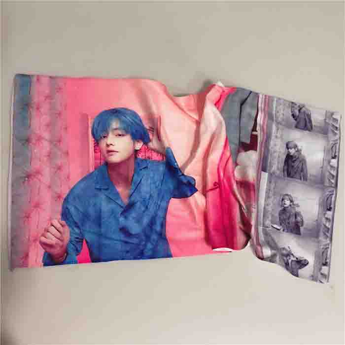 BTS X MAP OF THE SHE SOUL FACE TOWEL