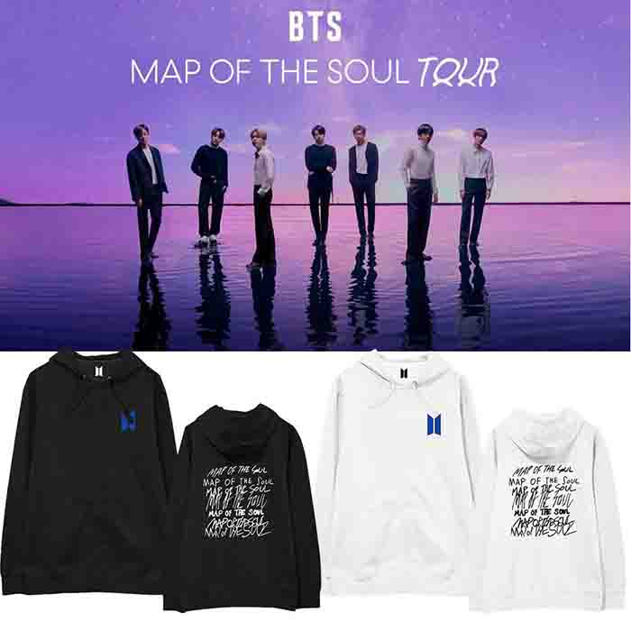 BTS X Map of the soul Hoodie