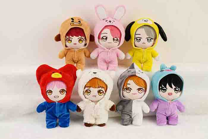 BTS X member dolls